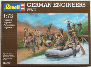 Revell 1/72 RV02508 German Engineers (WW2)